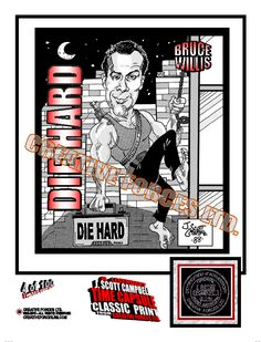 A Tribute to the first DIE HARD Movie of 1988.  J. SCOTT CAMPBELL was only 15 years old when he put this one together for a Movie Review in High School.  (CreativeForces.mysite.com)