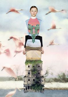 Collage by Ernesto Artillo. Collages, Collage Artists, Illustration Mode, Collage Illustration, Jewelry Illustration, Medical Illustration, Illustrations, Mode Collage, Mixed Media Collage