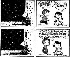 Come ci si rivolge ai fiocchi di neve?
