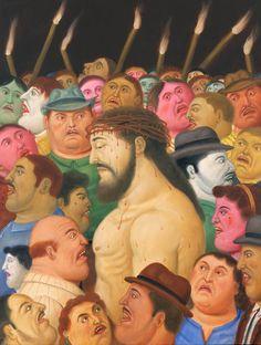 Vía Crucis, la pasión de Cristo de Fernando Botero en el Museo de Antioquia. Una hermosa exposición que tuve el placer de escribir sobre ella.