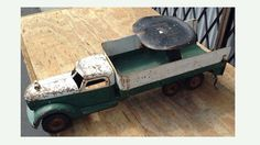 1940s Buddy L Tail Gate Loader Ride On Toy Truck - 1