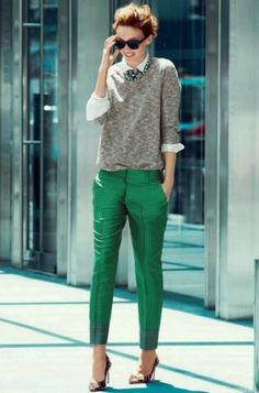 Emerald Green Pants