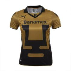 Apoya a los Pumas de la UNAM con el nuevo jersey visitante de Puma que cuenta con la tecnología DryCell para mantenerte fresca y seca.