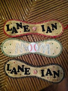 Baseball Bling by MommaMiasCreations on Etsy, $25.00