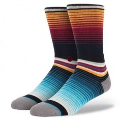 For active days, partner up with Stance‰۪s Rancho. The sock‰۪s luxurious combed cotton and reinforced heel and toe provide an especially soft ride while the sock‰۪s mesh vents help keep things cool. A