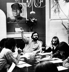 American Zoetrope post-production meeting for The Godfather Part II (Coppola, 1974)