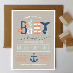 Nautical Baby Shower Invite | Nautical Baby Shower Invitation | Printable Invite | Printable Invitation | Whale | Anchor | Blue | Navy by MecadeDesigns on Etsy https://www.etsy.com/listing/291934325/nautical-baby-shower-invite-nautical