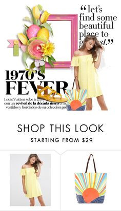 """summer style"" by sajra-de ❤ liked on Polyvore featuring ASOS, Mara Hoffman, Franco Sarto and dress"