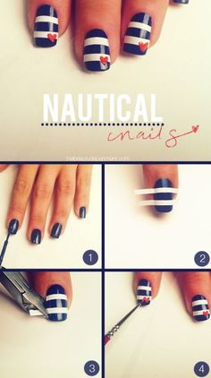 Nautical stripes, easy!.
