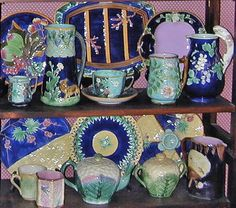 Glazed and Confused: English, American & Continental Victorian Majolica: Majolica Collections