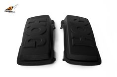 RS hard saddlebag lids hog design for touring 1993-2013 Image