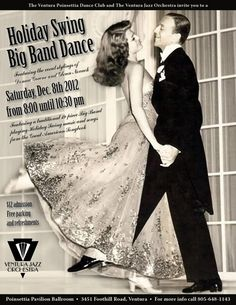 Holiday Swing Big Band Dance - Ventrua, CA