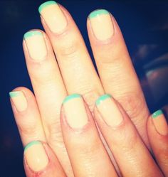 nude and mint french