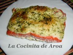 La Cocinita De Aroa : SALMON AL HORNO CON MAYONESA, WILD ALASKA SALMON