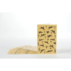A set of note cards by printmaker Rob Barnes, perfect for saying Hello. Our 90 x note cards come in a set of 8 cards with matching white envelopes. They are blank inside for your own m