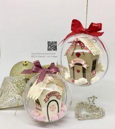 """""""39"""" Slaapplaatsen Till Kerstmis - Huis in een bal met Stampin 'Up!  Sweet Home Bundle"""