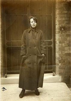 A portrait of Suffragette Lilian Forrester whilst in prison