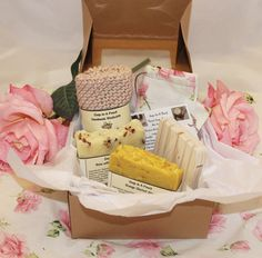 Mother's Day Handmade Soap Gift Set/Gift for Mum/Gift for Mom/Gift for Wife/Gift for Daughter/Gift for Her/Handmade Soap/Rose Soap Gift Set/ by CCsSoapinaPouch on Etsy