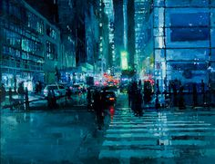 Post image for Jeremy Mann's Eery Urban Oil Paintings
