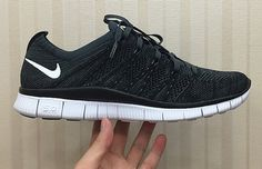 5f1db79aba85 New Nike Free Flyknit 5.0 in grey surfaces on Instagram. Black And White  Nikes