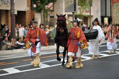 An imperial horse, Jidaisai matsuri, Kyoto
