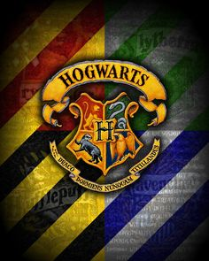 This poster is perfect for any fan of Harry Potter to show their loyalty to their favorite wizarding school. In each of its corners it displays