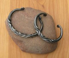 Twisted bracelets - Member Projects - I Forge Iron