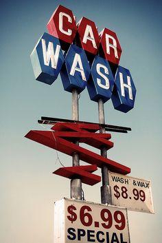 Wash n Wax | Flickr - Photo Sharing! #Carwash #Signs #CarwashLive