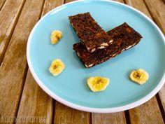 Vegane Schokoladen Bananen Müsliriegel vegan chocolate banana granola bars http://kuechenmamsell.blogspot.de/2015/03/vegane-schokoladen-bananen-musliriegel.html