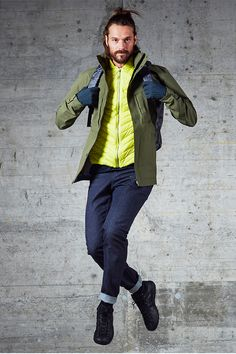 Alvra Pants for Men Urban Chic, High Level, Bomber Jacket, Hipster, Lifestyle, Denim, Pants, Jackets, How To Wear