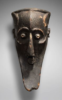 "Africa | Helmet mask ""Kabongo"" from the Kuba people of Congo 