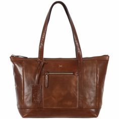 The 'Ellis' bag is hand-made from the finest cowhide leather, and veg-tanned…
