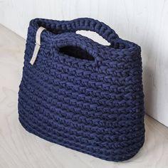 Crochet Chunky Yarn Handbag Video Tutorial and Pattern/ | Etsy