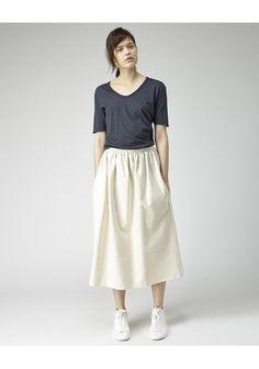 BASE RANGE | Long Skirt | Shop @ La Garçonne