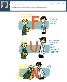 Sherlock doesnt have fun