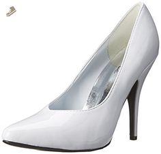 Ellie Shoes Women's 8220 Dress Pump, White Patent, 12 N US - Ellie shoes pumps for women (*Amazon Partner-Link)