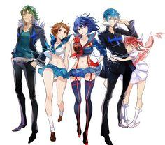Kill La Kill, Manga Art, Manga Anime, Anime Art, Otaku Anime, The Ancient Magus Bride, Different Art Styles, Gurren Lagann, Manga Pictures