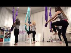 Aerial Flow Yoga by Siddhi , the choreography - YouTube