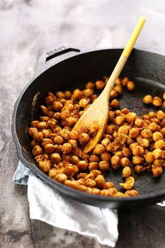 Sweet Potato Chickpea Buddha Bowl! The perfect plant-based lunch or dinner #vegan #glutenfree #minimalistbaker