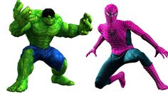 The Incredible Hulk vs Spider-Man | Superhero In Real Life | Children Nursery Rhymes | For Kids https://youtu.be/Vuc_Xh6GT4Q