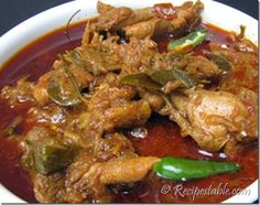 Chicken Nawabi Recipe
