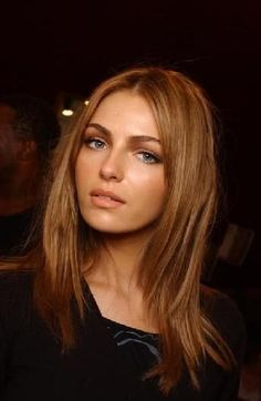 Valentina Zelyaeva Copper Hair--i like/don't like all at the same time...perhaps would be a good highlight color rather than all over tone