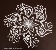Simple Rangoli Kolam, Simple Rangoli Border Designs, Basic Mehndi Designs, Rangoli Designs Latest, Free Hand Rangoli Design, Small Rangoli Design, Rangoli Designs With Dots, Beautiful Rangoli Designs, Mehndi Designs For Hands