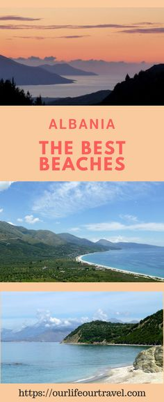 Best beaches in Albania | Seaside | Guide | Vacation or Road Trip in Albania? Check out several beaches and seaside spots and choose the best for your preferences! #albania #beaches #seaside #vacation