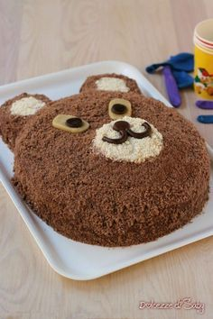 dessero rz torta orsetto #torta #dessert #cake