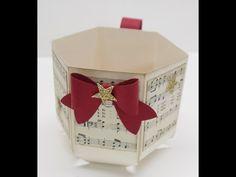 Weihnachtstasse mit dem Falzbrett für Briefumschläge - Stampin`Up! Produkte mit Anregungen der HobbycompanyStampin`Up! Produkte mit Anregungen der Hobbycompany