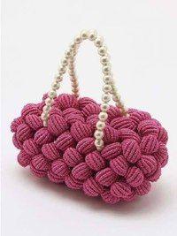 Bolso Tejido a Crochet En Punto Red - YouTube