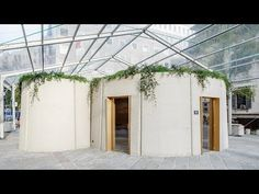 Our latest Dezeen x MINI Living video investigates a house, which was built in a week, onsite in a Milan square, using recycled concrete. 3d Printed Building, 3d Printed House, Architecture Design, Pavilion Architecture, Green Architecture, Architecture Interiors, Printed Concrete, Recycled Concrete, 3d Printing Companies