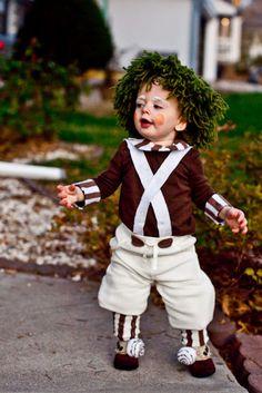 you are my licorice halloween 2012 oompa loompa diy - Oompa Loompa Halloween