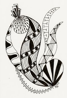 365 days my own zentangle creations